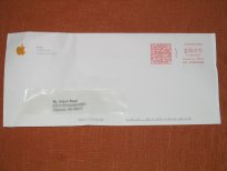 Apple Inc. Envelope