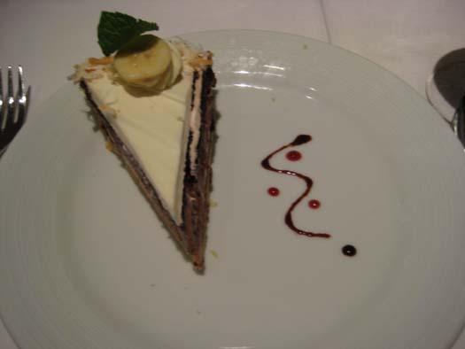 Oasis of the Seas Pictures - Dessert : Banana Cream Pie