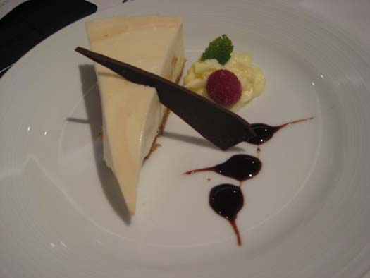 Oasis of the Seas Pictures - Dessert : Dulce De Leche Cheesecake