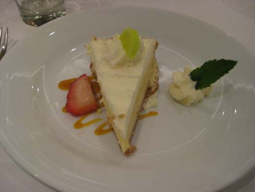 Oasis of the Seas Pictures - Dessert : Key Lime Pie