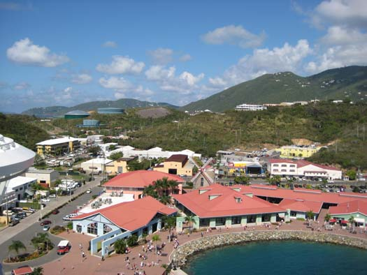 Oasis of the Seas Pictures - Ports of Call : St. Thomas