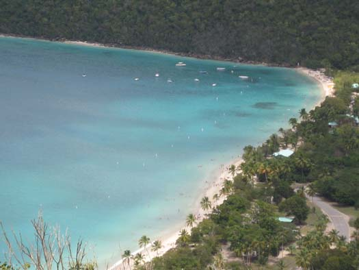 Oasis of the Seas Pictures - Magen's Bay St. Thomas