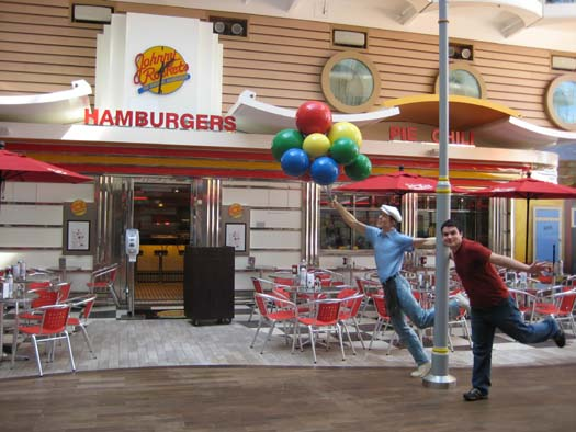 Oasis of the Seas Pictures - Johnny Rockets