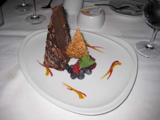 Oasis of the Seas Pictures - Dessert : Mudpie