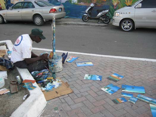 Oasis of the Seas Pictures - Street Artist