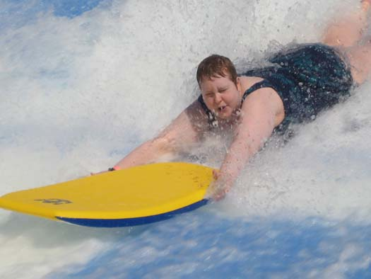 Oasis of the Seas Pictures - Cassie Wipes Out!