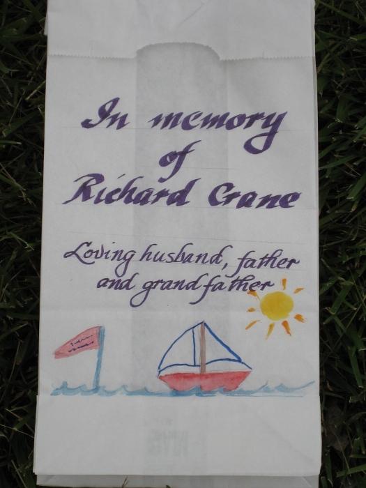 Relay For Life 2010 - Luminaria: Richard Crane
