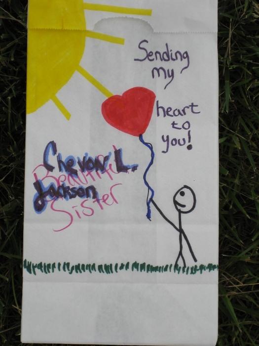 Relay For Life 2010 - Luminaria: Chevon Jackson