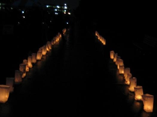 Relay For Life 2010 - Luminarias Ceremony