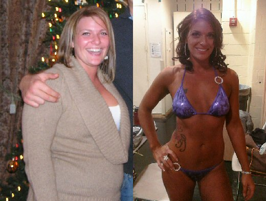Kristy Victor - Before and After - Click to enlarge