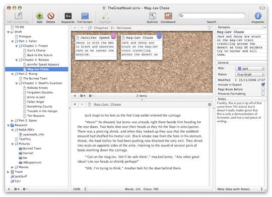 Scrivener - Your Complete Writing Studio
