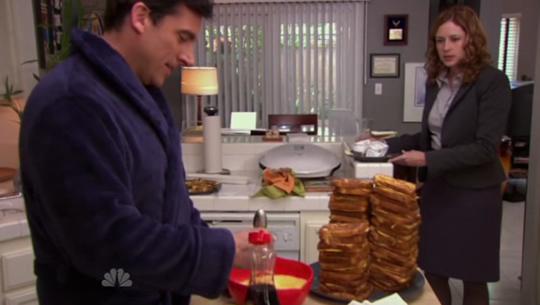"Michael Scott - ""After breakfast"""